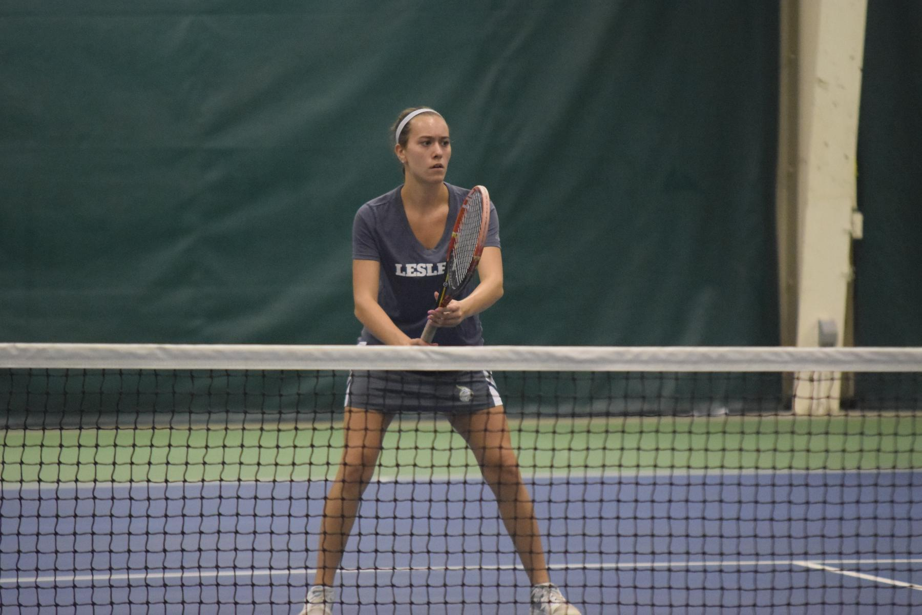 Women's Tennis Claims Conference Opening Win