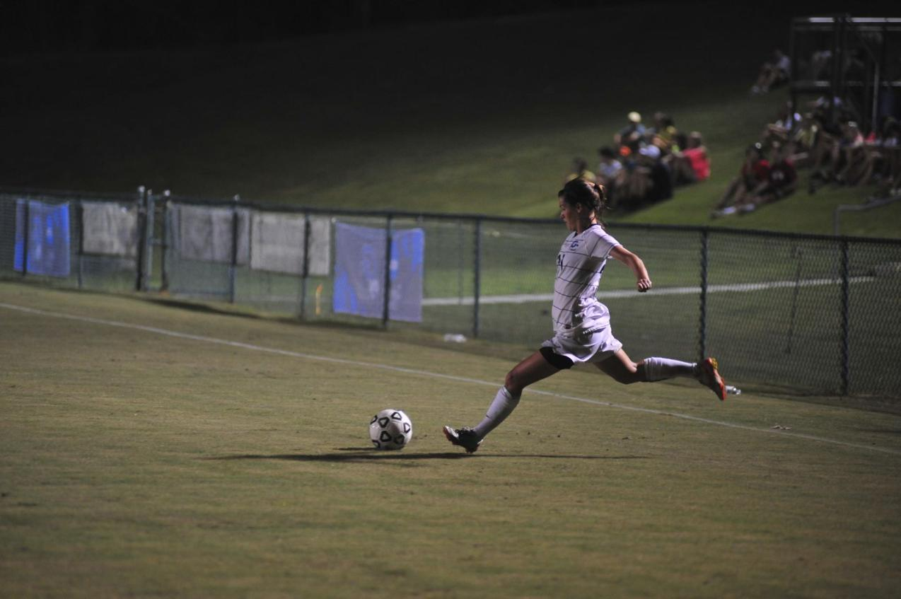 Second Half Surge Pushes GC Soccer to First Victory