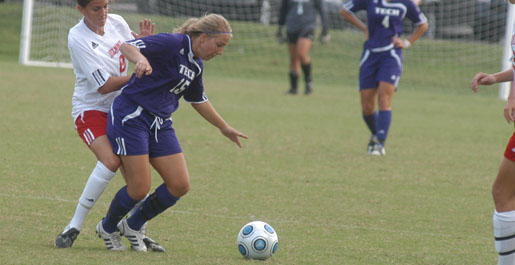 Hoffman's two goals lift Tech to 2-1 OVC victory over Eastern Kentucky
