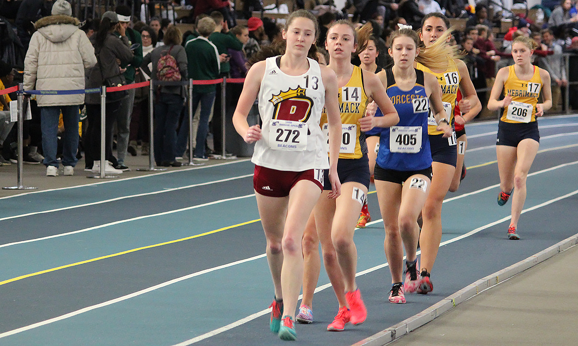 More Pride Athletes Qualify for New England Championships as School Record Falls