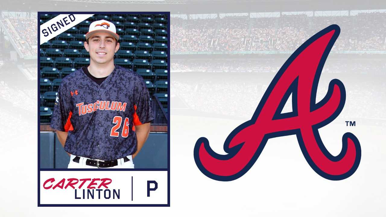 Carter Linton signs with Atlanta Braves