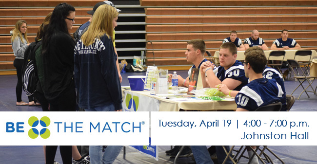 Football to Host 7th Annual Be The Match Bone Marrow Donor Registration Drive on April 19
