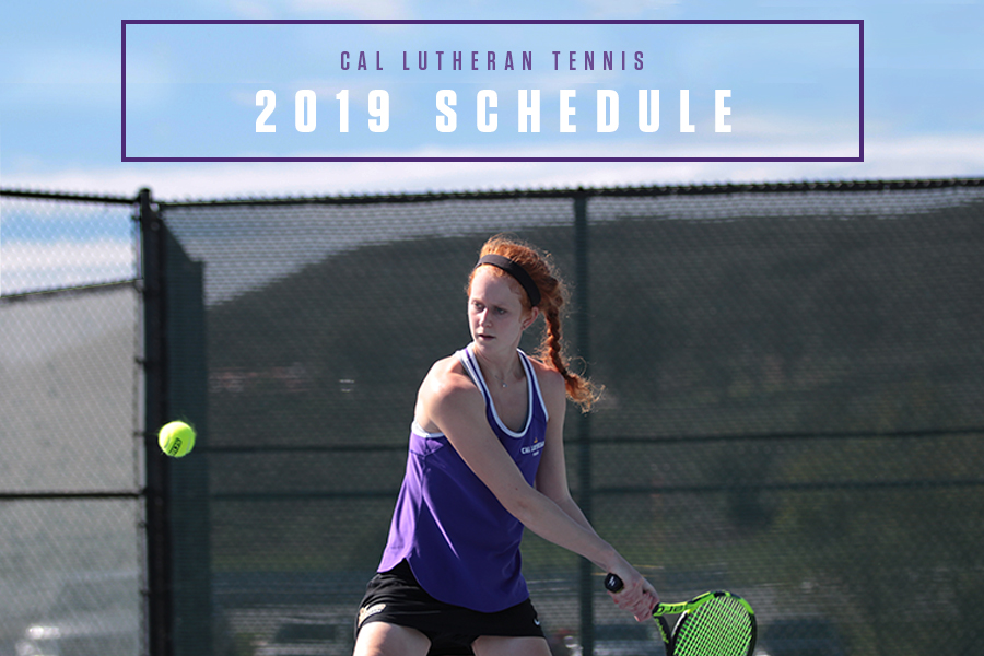 Cal Lutheran Tennis Releases 2019 Schedule