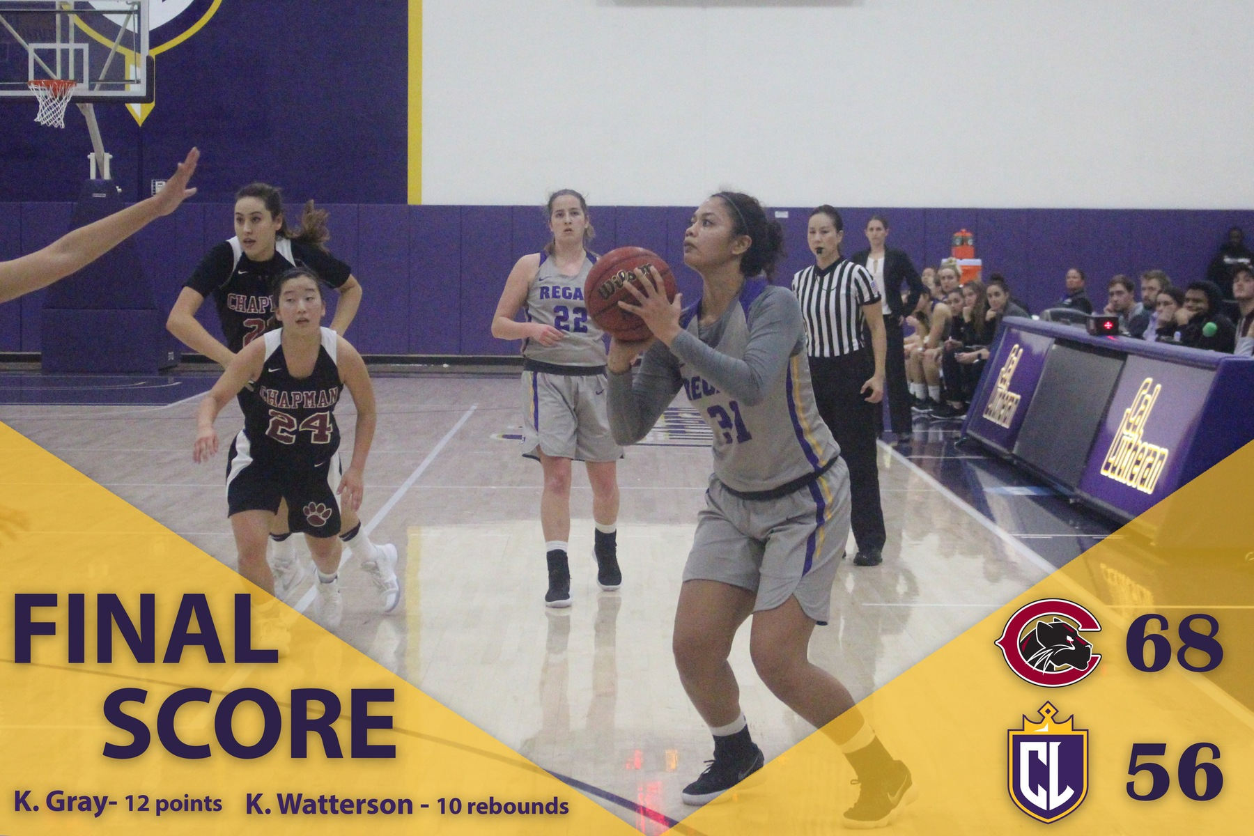 Panthers Full-Court Press Stops Regals