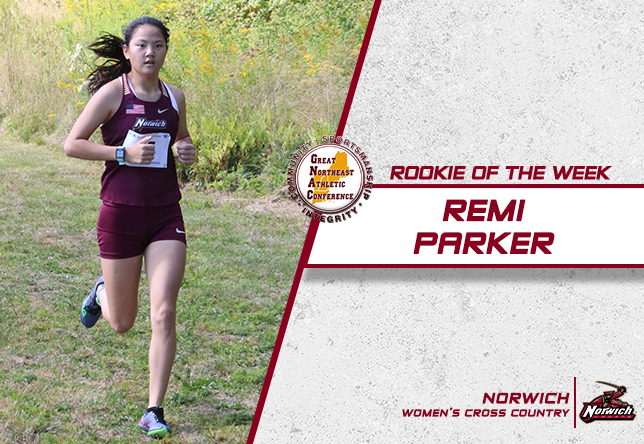 Women's Cross Country: Parker Nabs Rookie of the Week Award