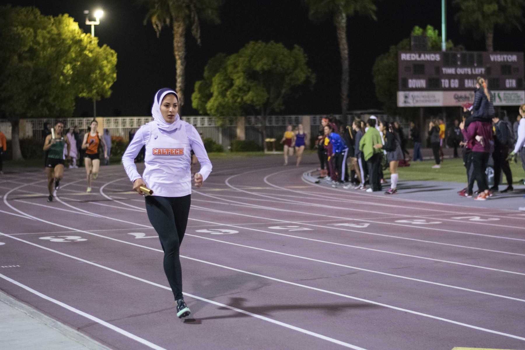 Griffith Improves on 400 Hurdles Mark at Oxy