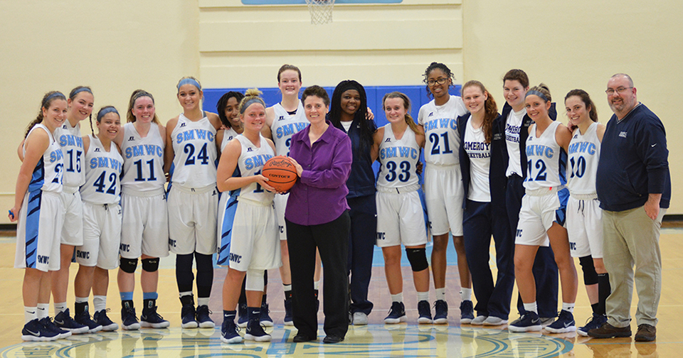 Parmer Joins 1,000 Points Club as Pomeroys Hold Off Beavers