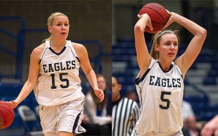 UMW's Partonen, Dye Named to 2013 All-CAC Women's Basketball Team