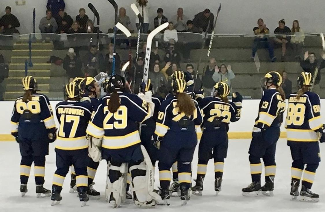 Women's Ice Hockey impresses in program debut