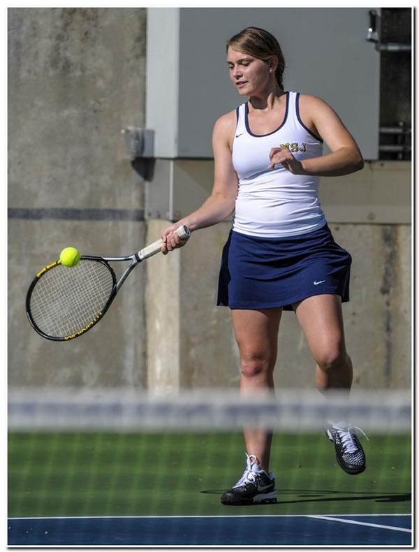 Mount women's tennis suffers home setback to HCAC-rival Anderson University