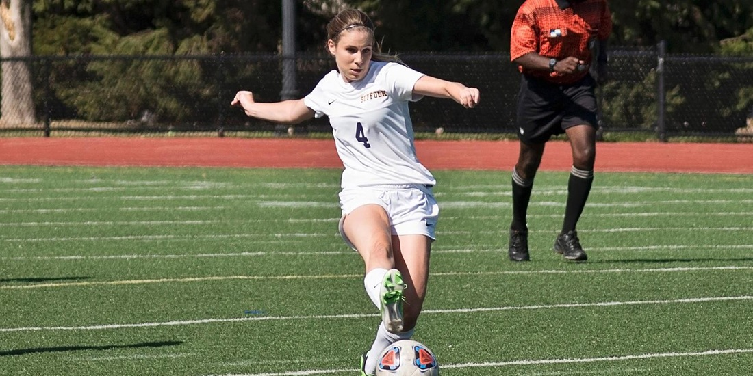 Harmon's Career Night Anchors Women's Soccer in 6-1 Win at Pine Manor
