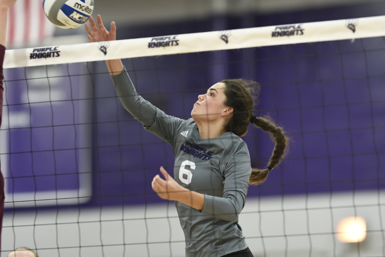 Volleyball Ends Long Road Swing With Loss At New Haven