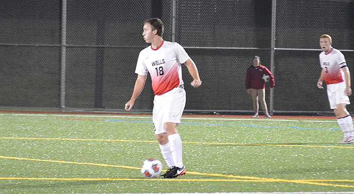 Ithaca Knocks Off Wells Men's Soccer