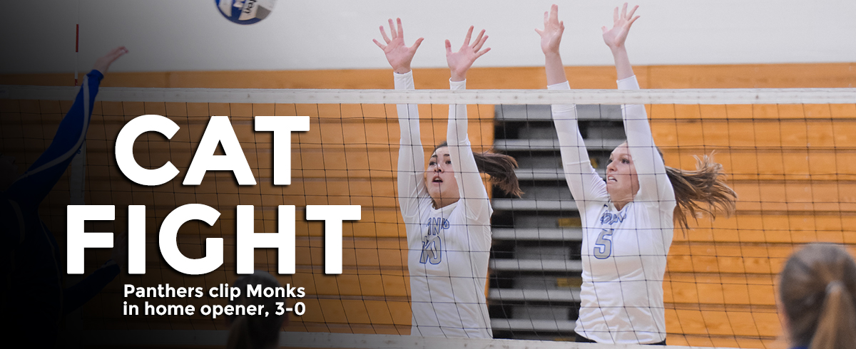 Monks Fall to Panthers in 2017 Home Opener, 3-0