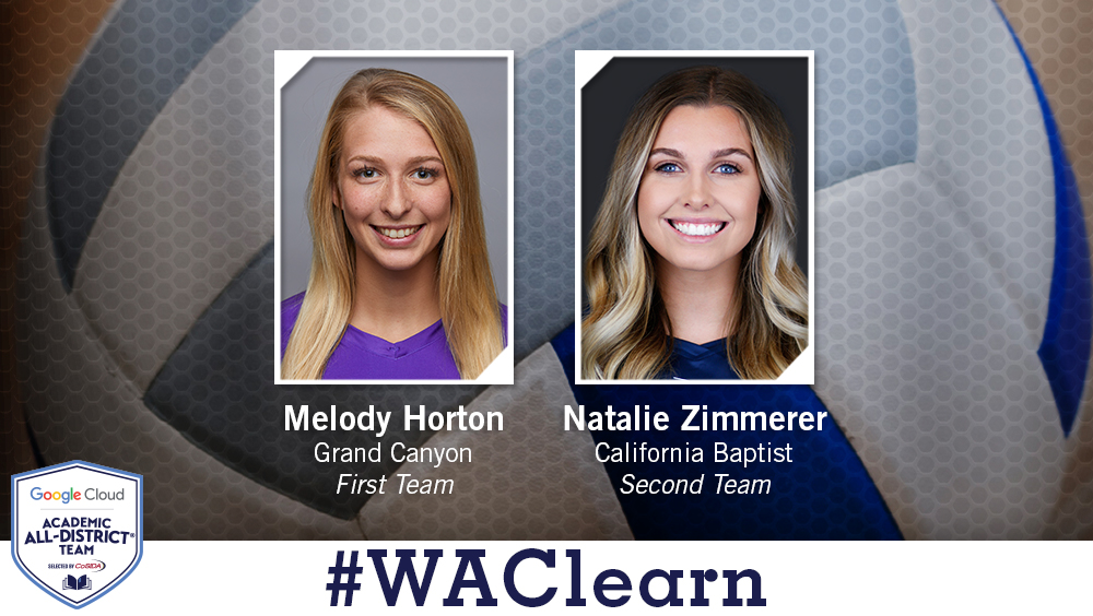Two WAC Volleyball Players Named Academic All-District