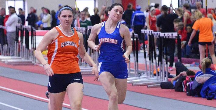 Women's Track & Field takes part in second meet of season