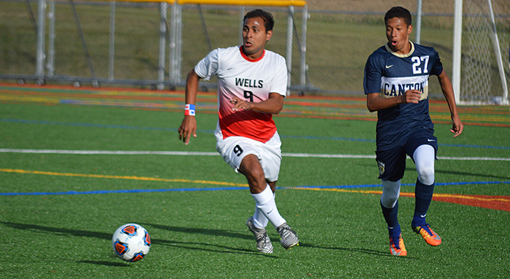 Second-Straight NEAC Win For Wells Men's Soccer