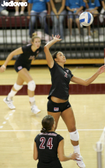 Bronco Volleyball Serves Up A 3-0 Sweep Of Gaels In WCC Action