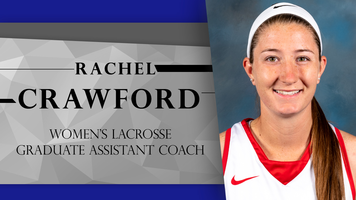 Crawford named Assistant Coach for women's lacrosse