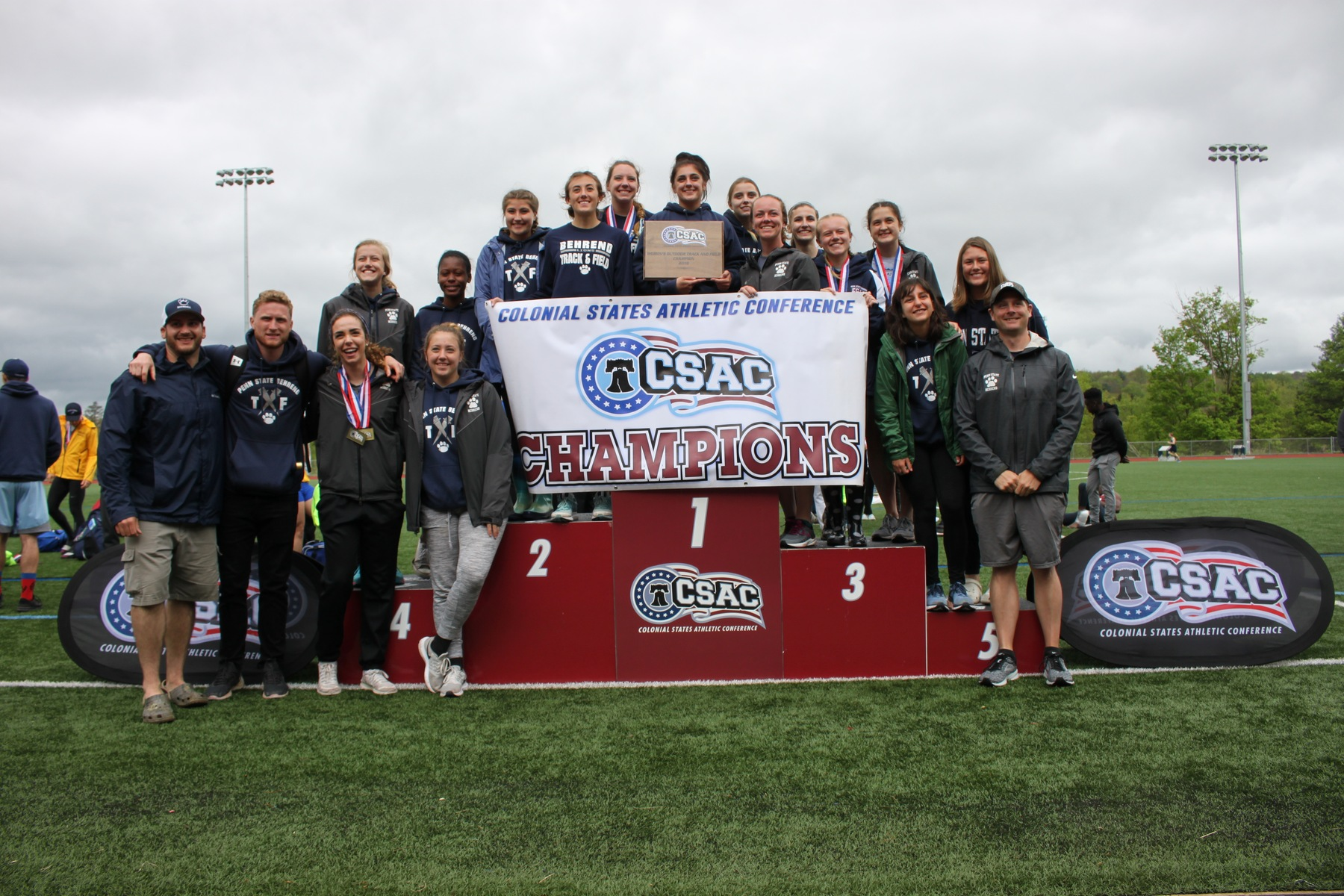 Lions Win CSAC Championship; Sargent and Yenchik Named Athletes of the Year