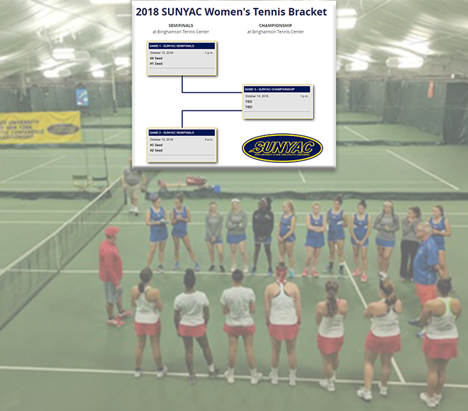 New Paltz women's tennis takes top seed into championship
