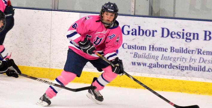Machuga scores twice as Women's Hockey nets Senior Day win
