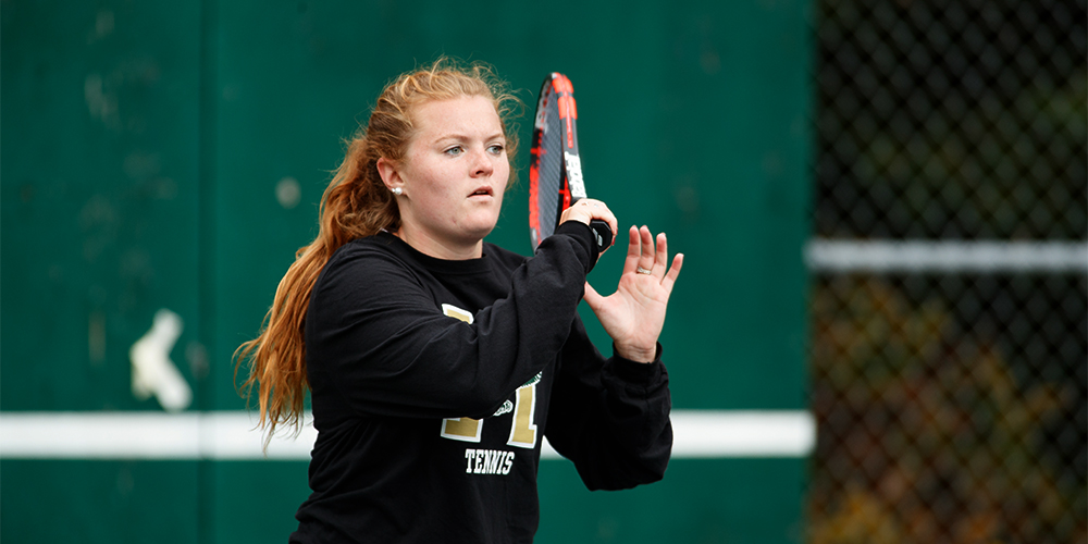 Women's Tennis Closes Out Regular Season With Win Over Southern Maine