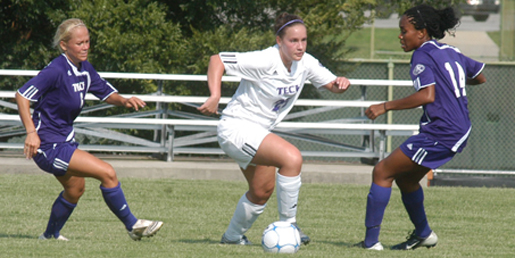 Soccer gets fall camp underway with Returnees vs. Newcomers scrimmage