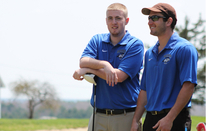 Golf Finishes NECC Championship In Fifth Place, Powell Wins Coach of the Year