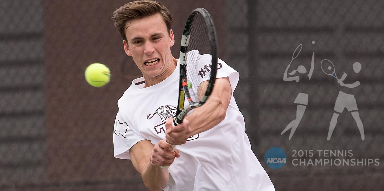 Trinity Men's Tennis Receives First Round Bye in NCAA Tournament