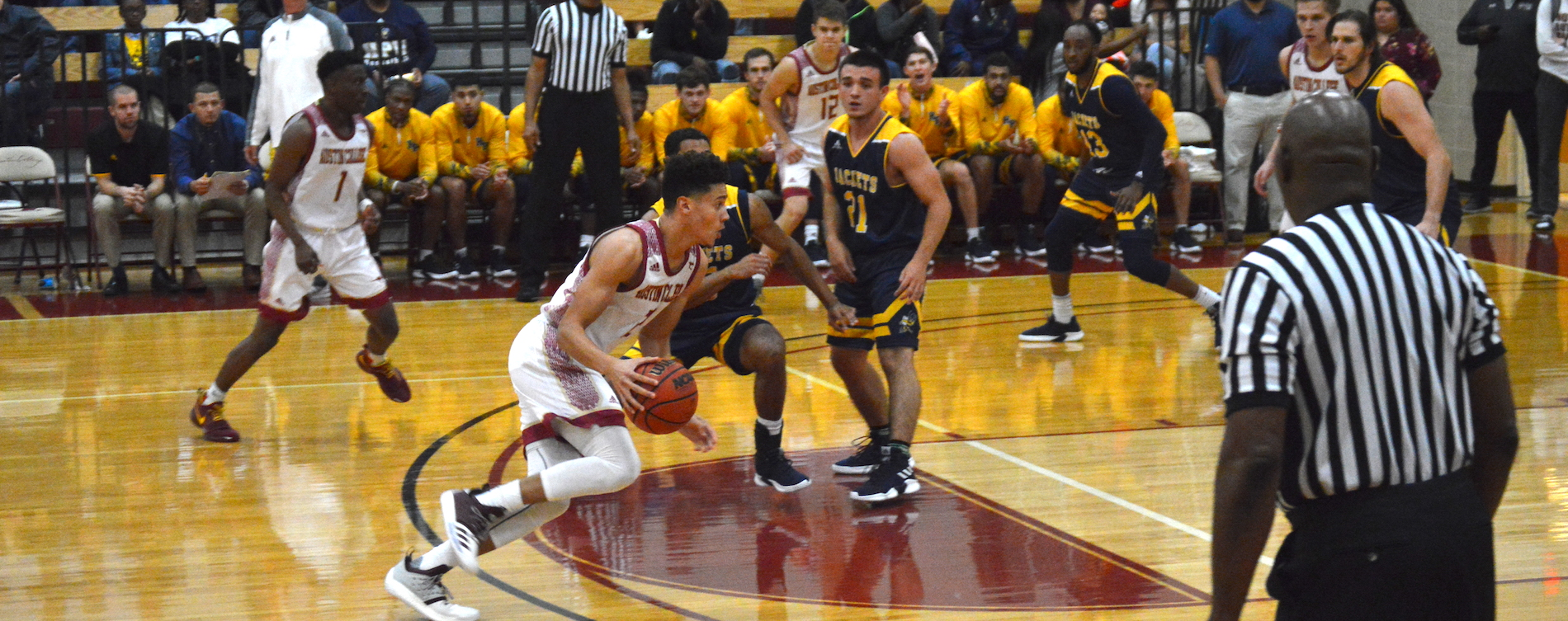 Schreiner Tops Austin College Men