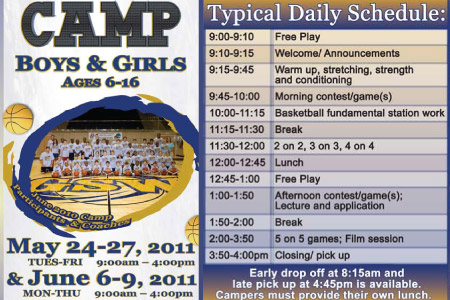 Learn from the champs; sign up for a GSW youth basketball camp