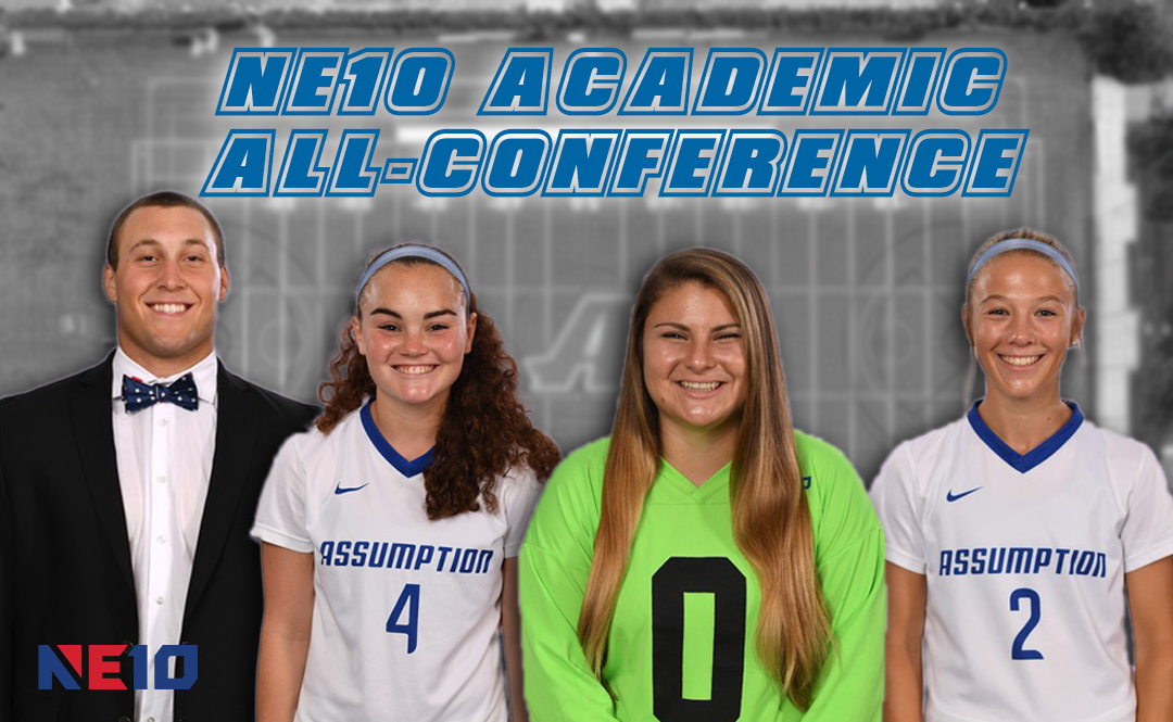 Four Hounds Named to NE10 Academic All-Conference Teams