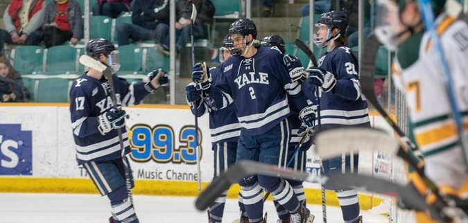 Yale concludes season with loss at Clarkson