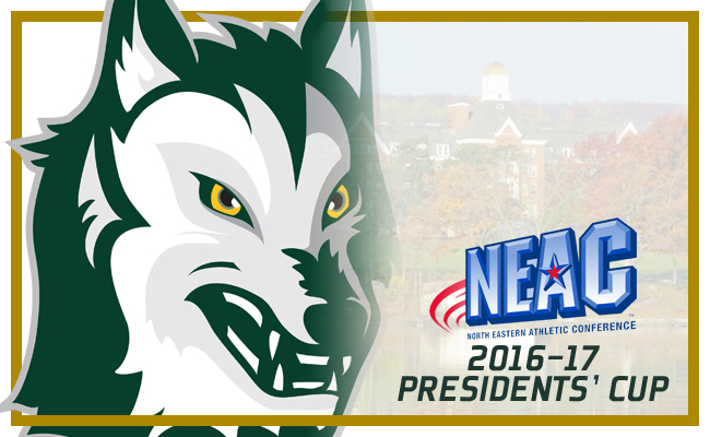 Keuka College Finishes Third in NEAC Presidents' Cup