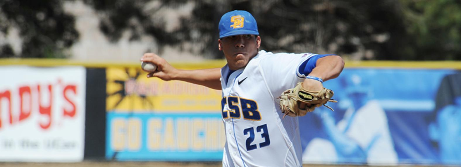 Loredo's Complete Game 5-Hitter Paces Gauchos to 5-0 Win Over LMU
