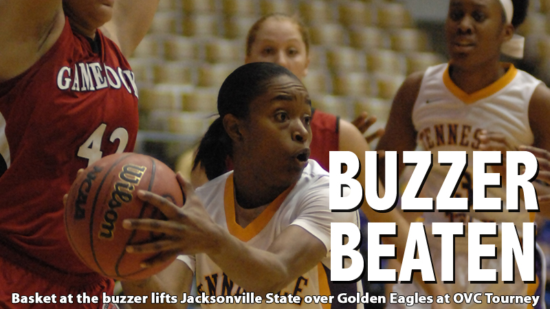 OVC tourney road hits dead end as Jacksonville State wins at the buzzer