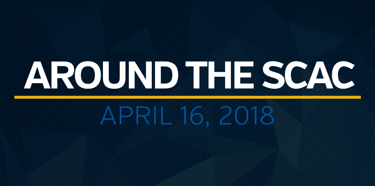 Around the SCAC - April 16