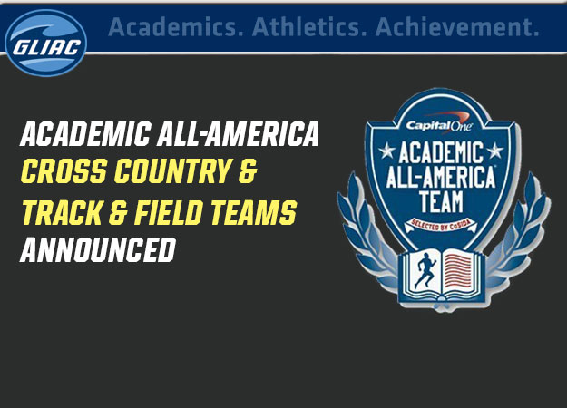 Eight GLIAC Cross Country & Track and Field Athletes Named Capital One Academic All-America