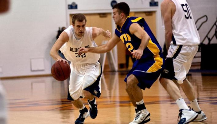 Men's Basketball Ends Season with Loss to Nationally-Ranked Pointers
