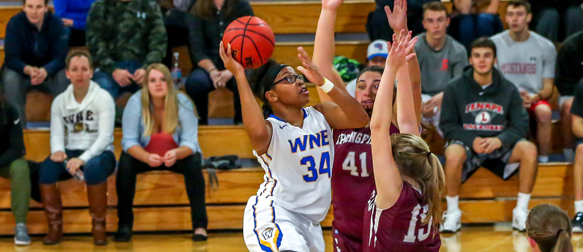 Western New England Remains Undefeated in CCC Play with 78-55 Victory at UNE