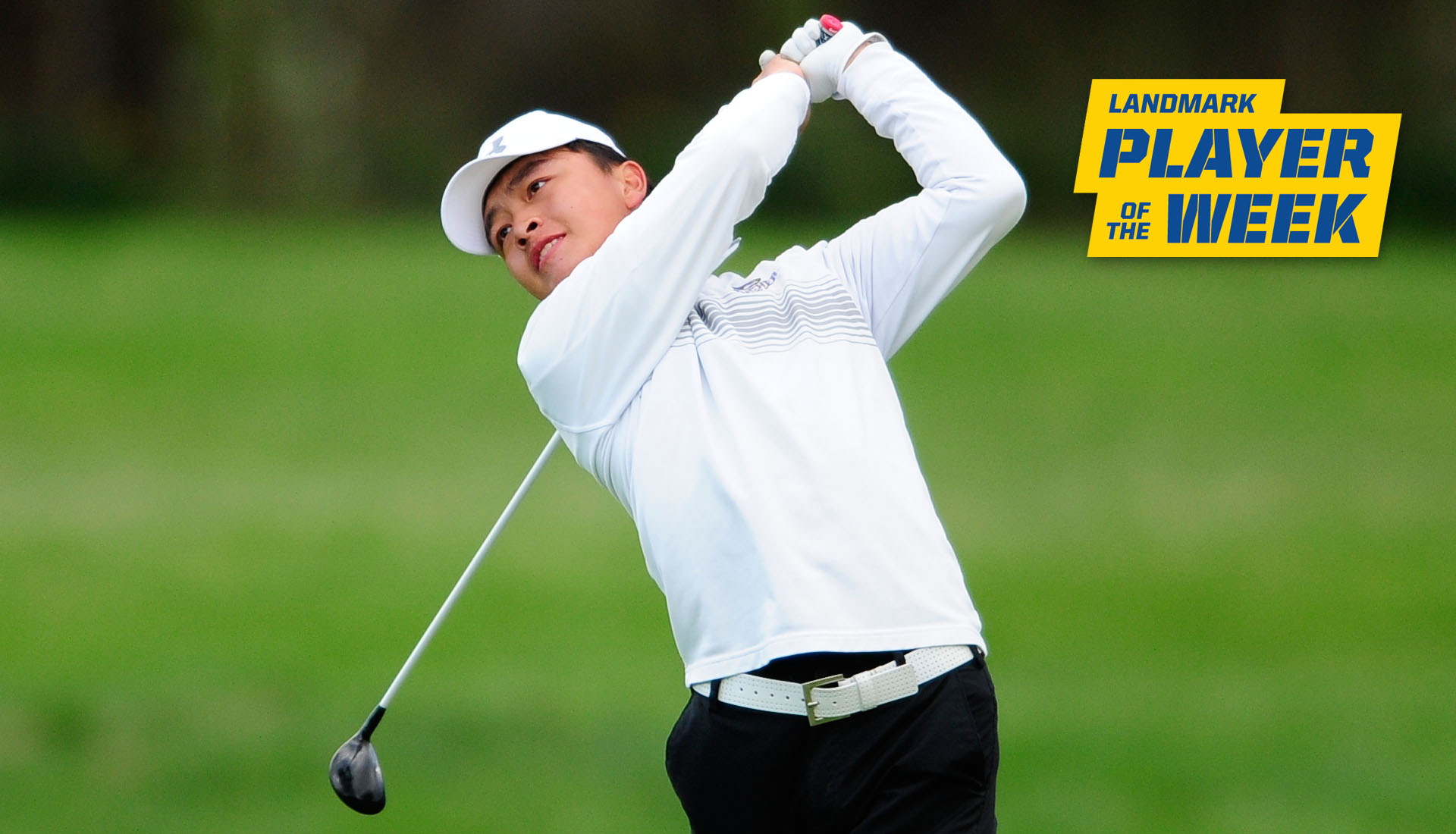 Goucher Men's Golf Evan Yue Named A Landmark Conference Athlete Of The Week