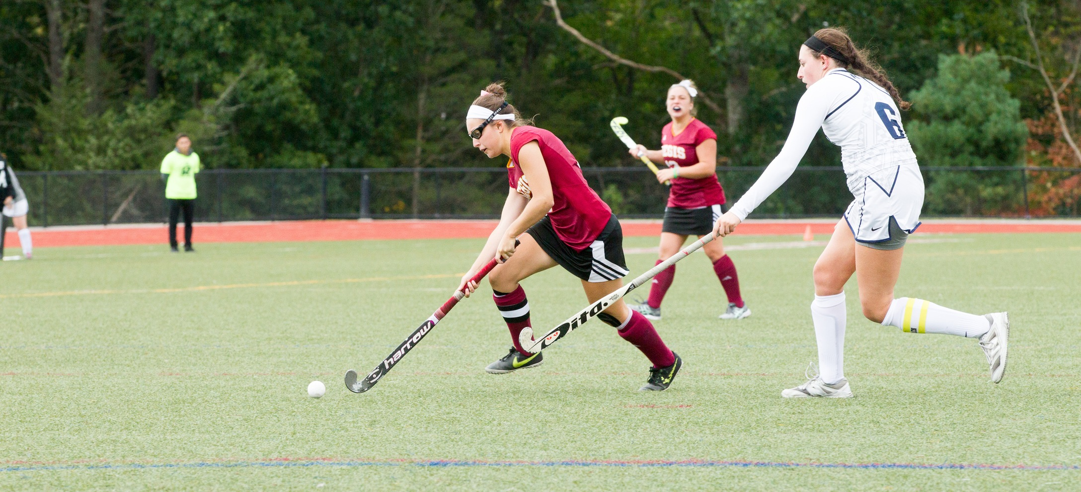 Field Hockey's Winning Streak Ends at Hands of New England College