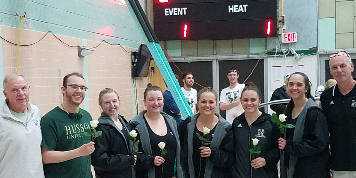 Women's Swimming & Diving Picked Up a 170-50 Victory over Maine Maritime on Senior Day