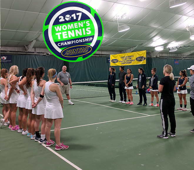 Cortland, New Paltz, Oneonta and Geneseo move on to SUNYAC women's tennis semifinals