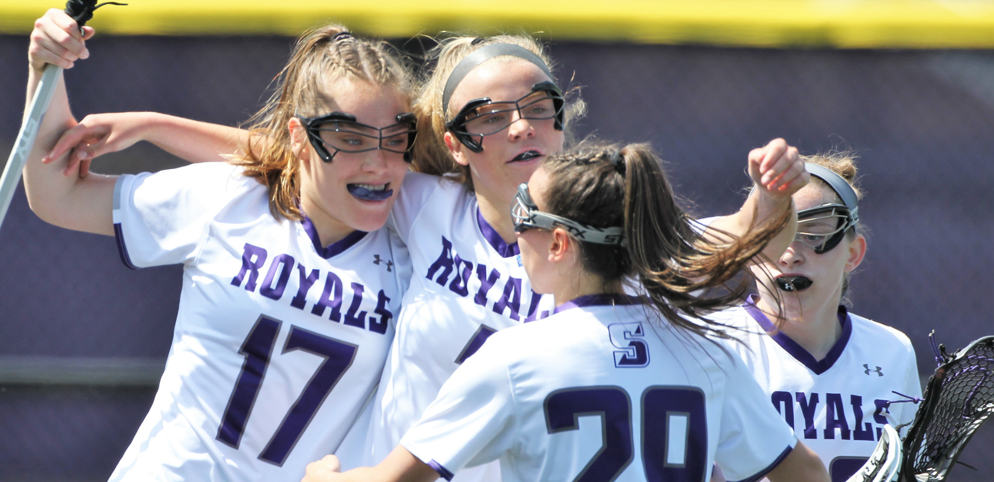 The University of Scranton women's lacrosse hosts a Landmark Conference semifinal playoff game for the third straight season on Wednesday, as the second-seeded Royals take on third-seed Moravian. © Photo by Timothy R. Dougherty / doubleeaglephotography.com