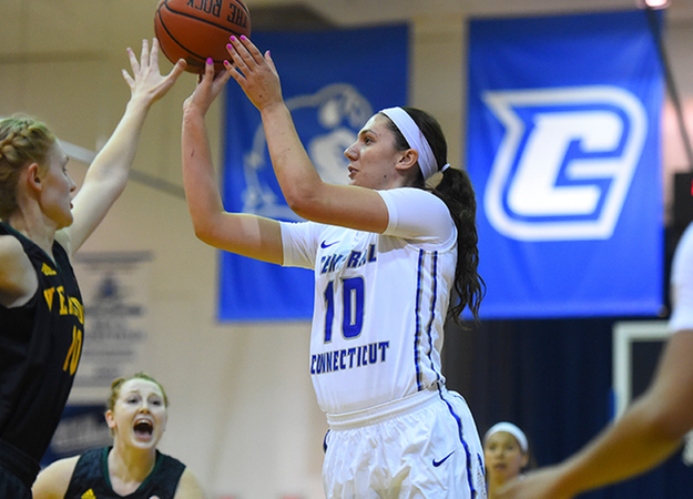 Women's Basketball Comes Up Short At New Hampshire, 56-52