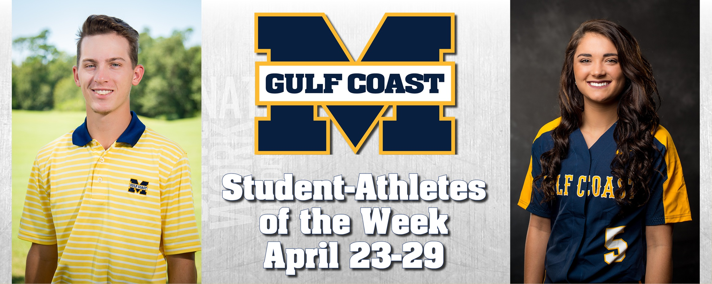 Wilkinson, McGoey named MGCCC Student-Athletes of the Week