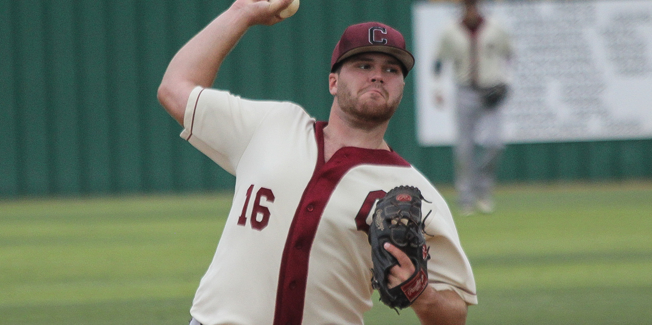 Kaleb Kirk, Centenary College, Pitcher of the Week (Week 2)