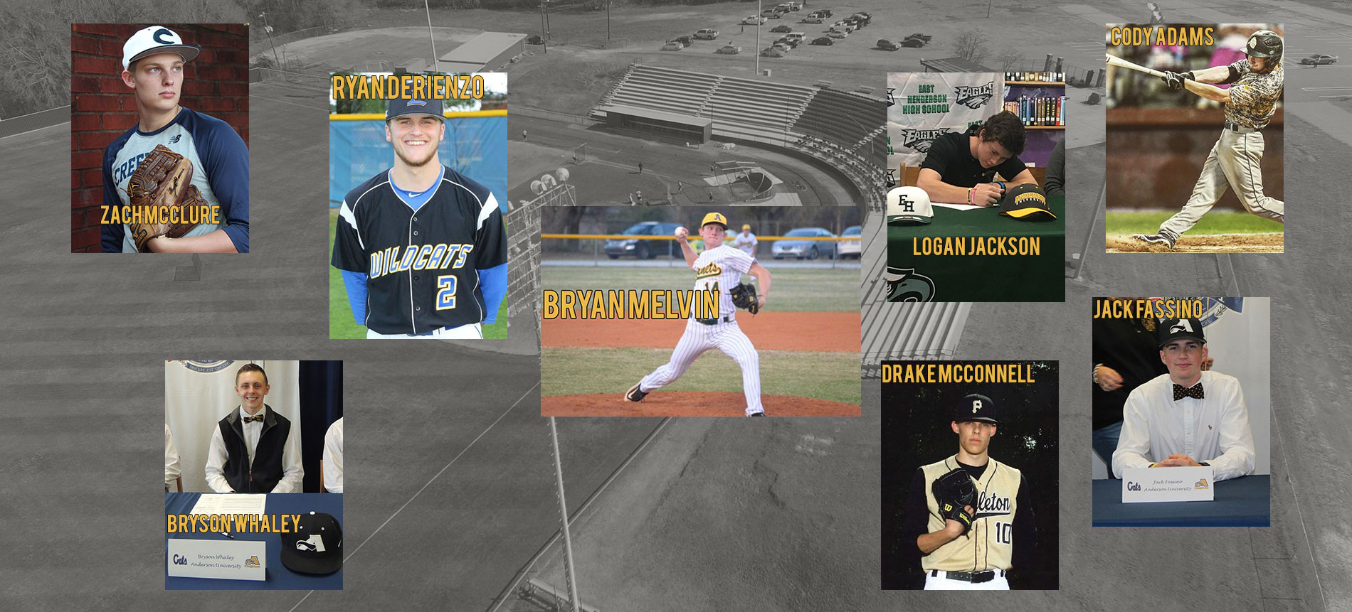 Baseball Adds Eight for 2018-2019